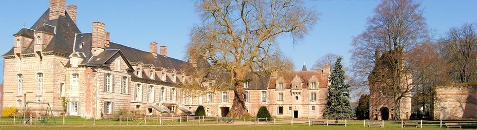 chateau normandie visite
